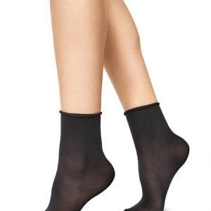 JUDITH socks BLACK/ KHAKI 2-pack/one size