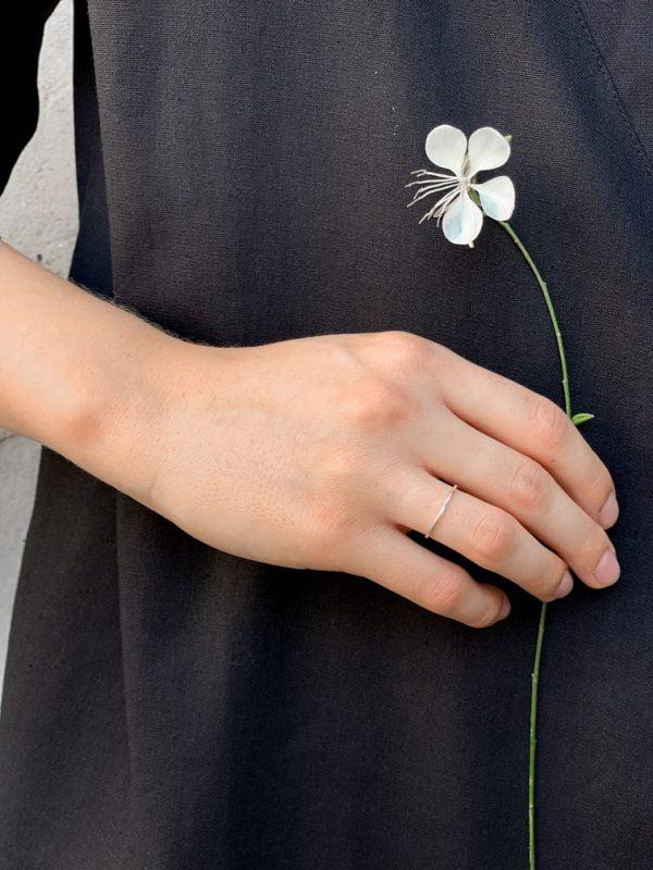 Moikoo prsteň Origines Simple plný