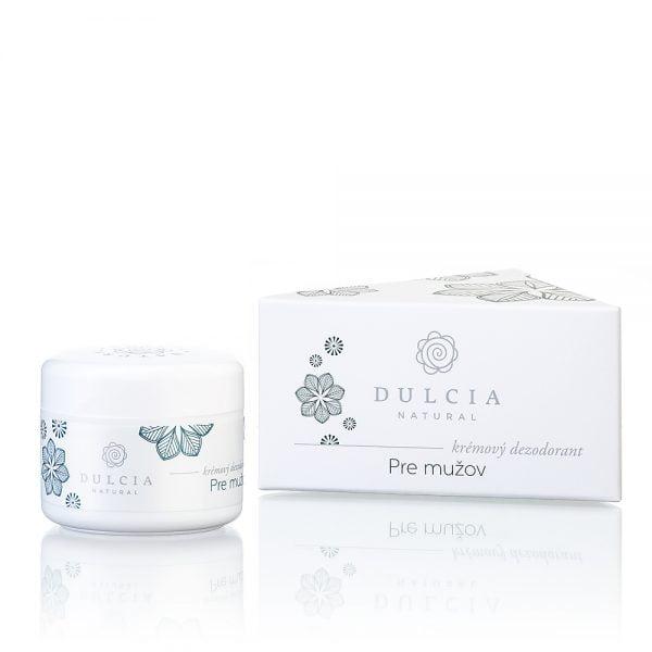 DULCIA krémový dezodorant pre mužov 30 ml