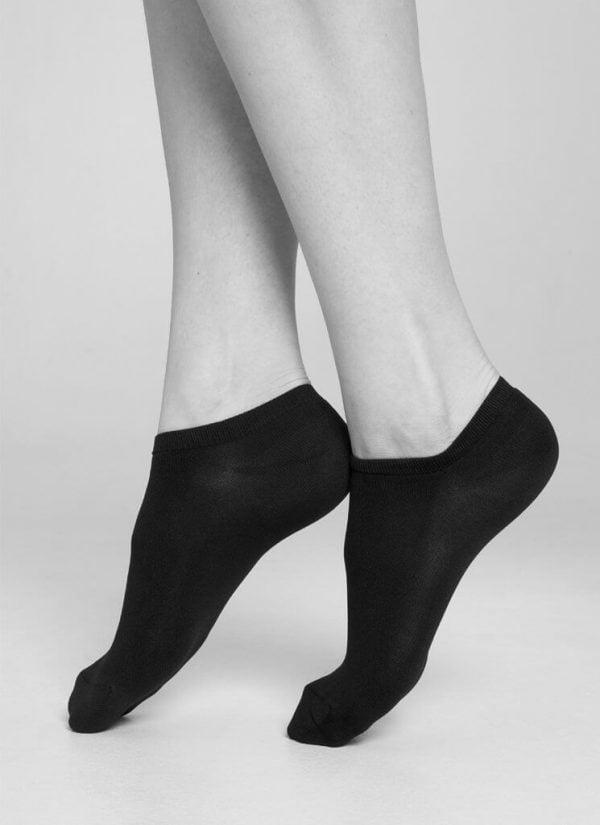 Sara Premium ponožky čierne