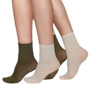 Judith ponožky khaki/béžová